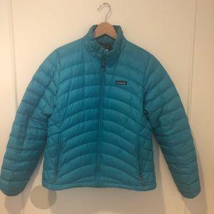 Patagonia Women's Down Sweater Jacket size L